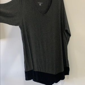 Plus Size Tunic with Asymmetrical Hem size 22/24